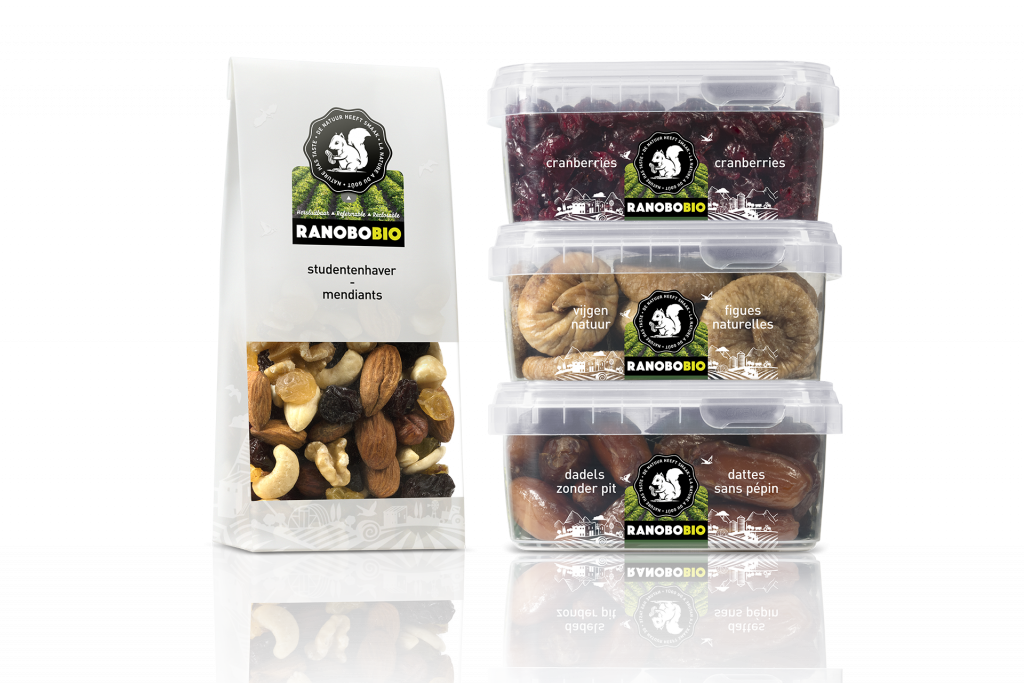 RanoboBIO Ranobo BIO noten gedroogde vruchten